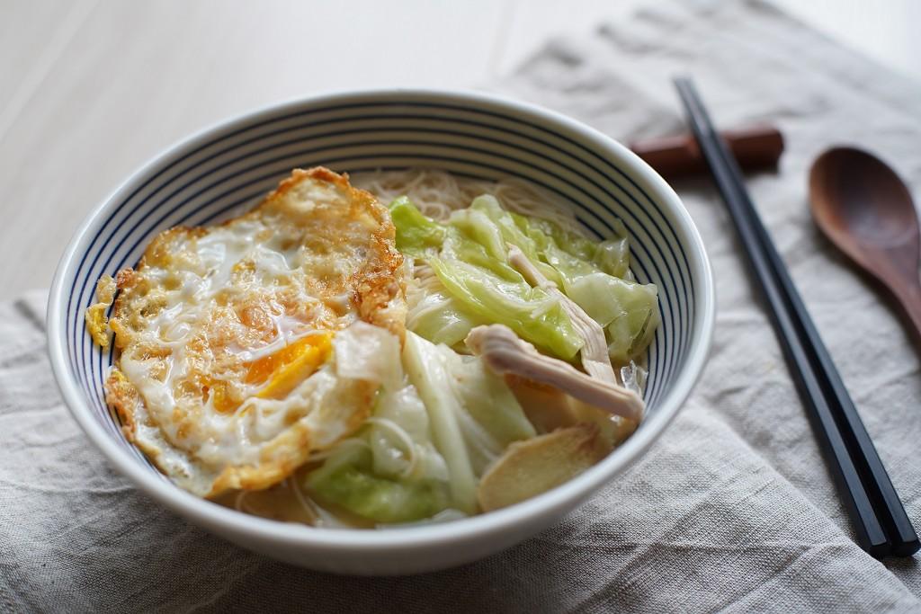 【台味料理】麻油蛋麵線 十分鐘就能暖胃又暖心
